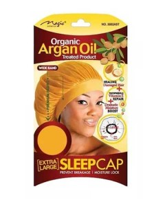 Magic Collection Organic Argan Oil Sleep Cap 3002